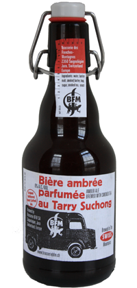 Biere Ambree au Tarry Suchong 11.2oz bottle